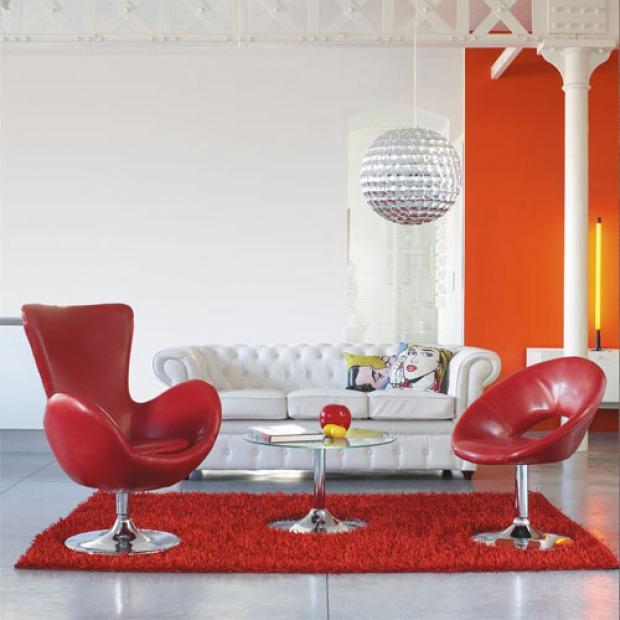 Favoloso arredamento Pop Art anni 60: colori fluo, plastica, allegro PN18