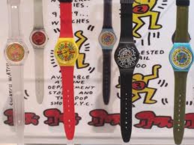 swatch keith haring