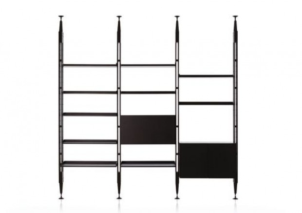 Libreria Metallo Modulare.Librerie Anni 50 Semplici Funzionali Componibili Modulari
