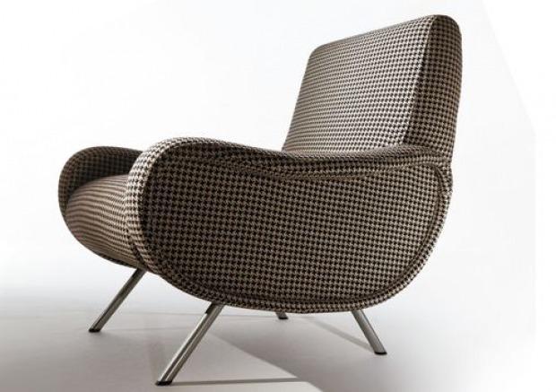 Poltrona lady marco zanuso anni 39 50 elegante funzionale for Poltrone vintage usate
