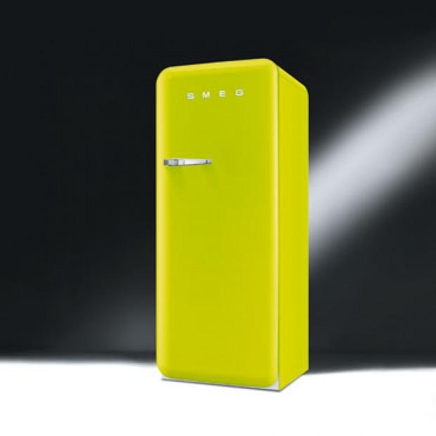 frigorifero Smeg anni \'50: allegria, funzionalità, colori